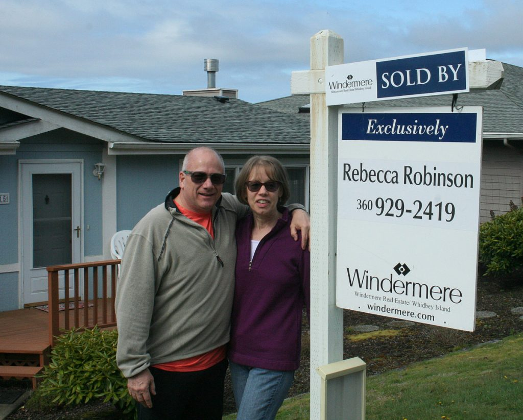 Buyers have a new home